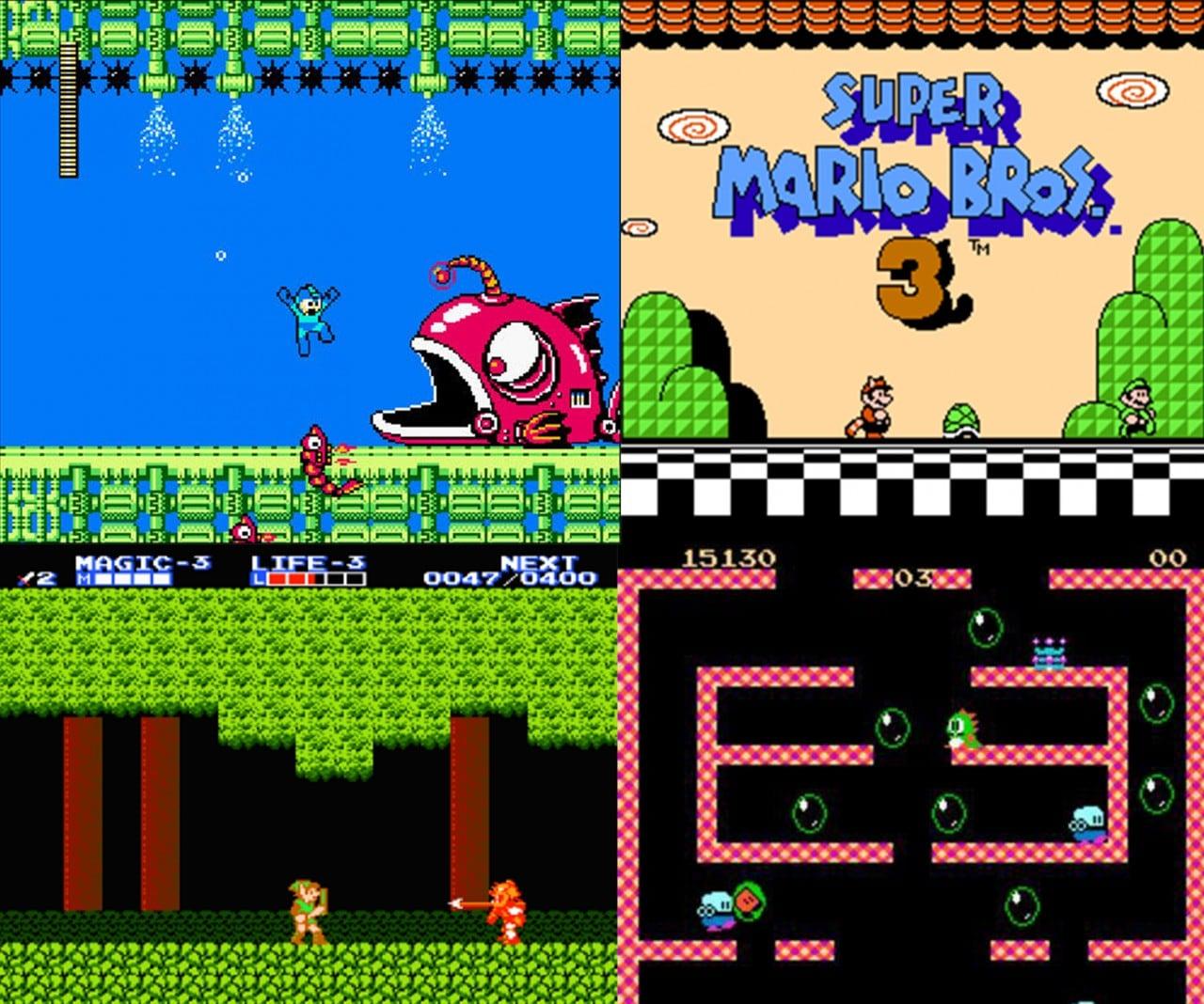 Nintendo Classic Mini NES giochi