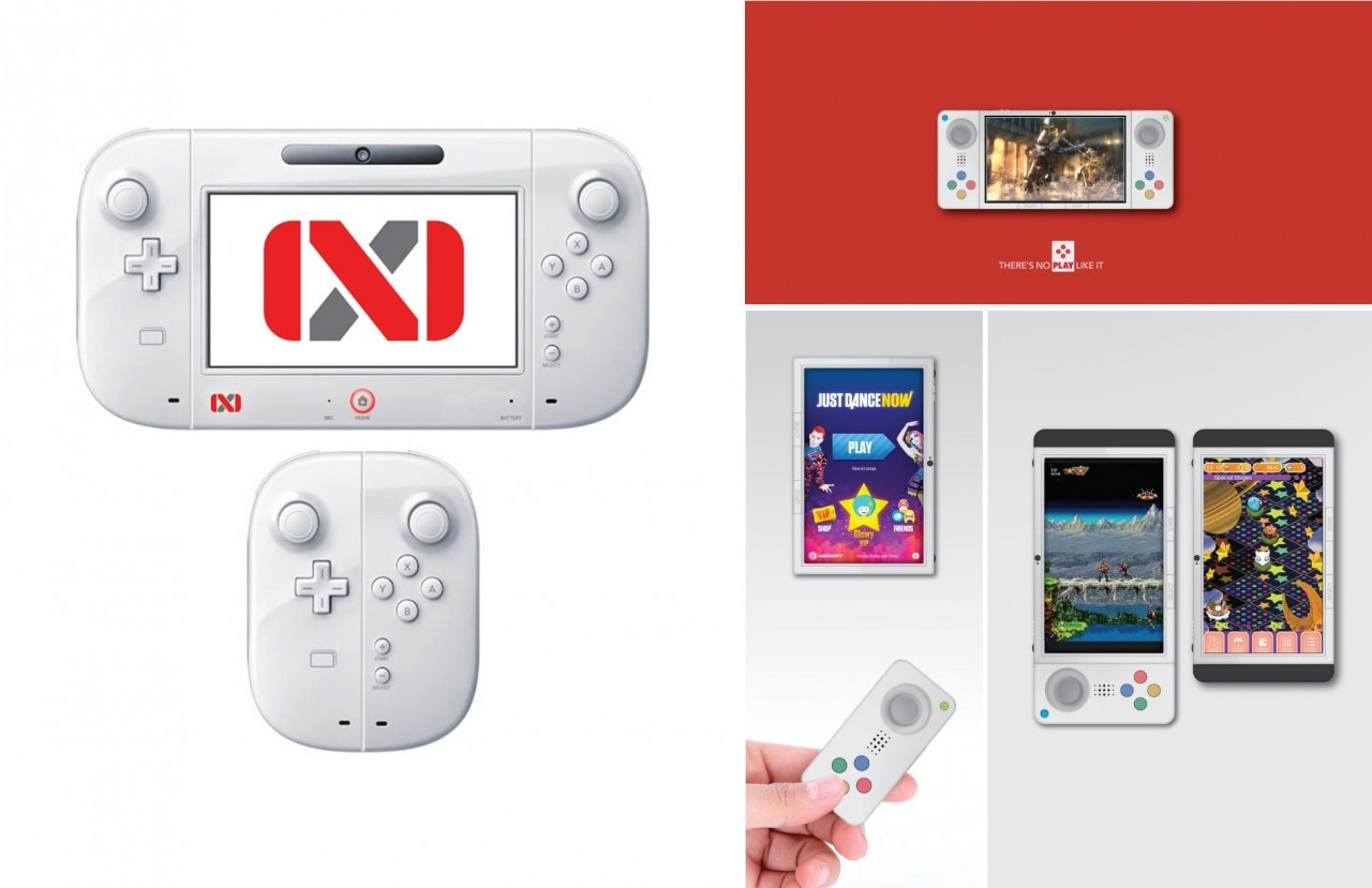 Nintendo NX Mockup Composto