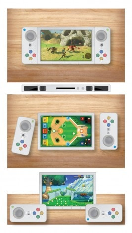 Nintendo NX Mockup alternativi - 4