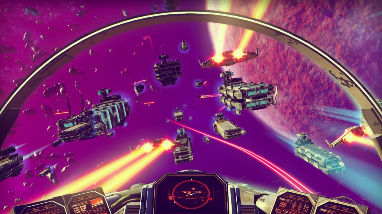 Potreste anche trovarvi coinvolti in enormi battaglie spaziali.