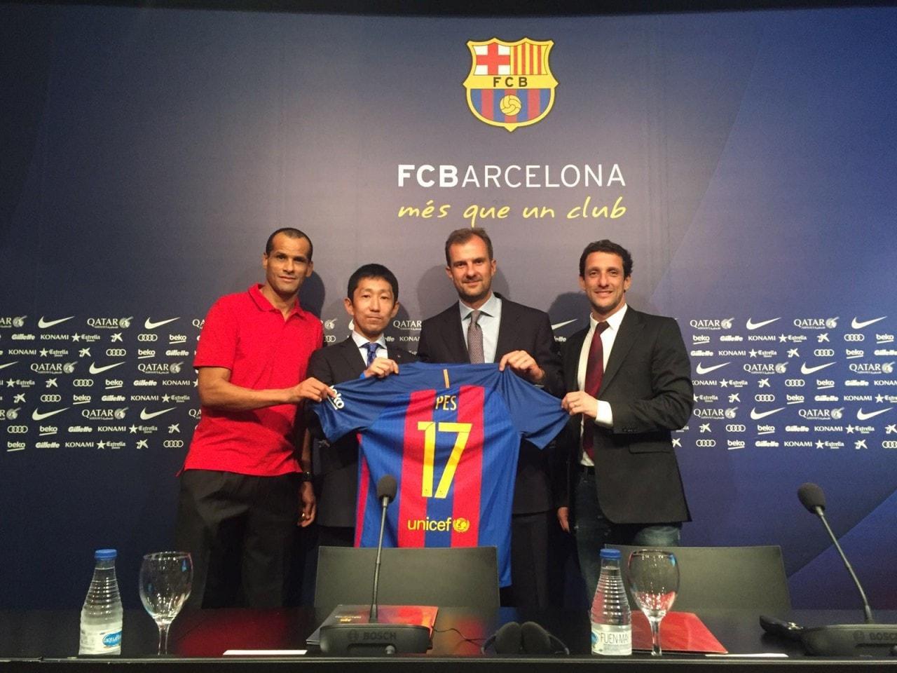 PES 2017 accordo Barcellona