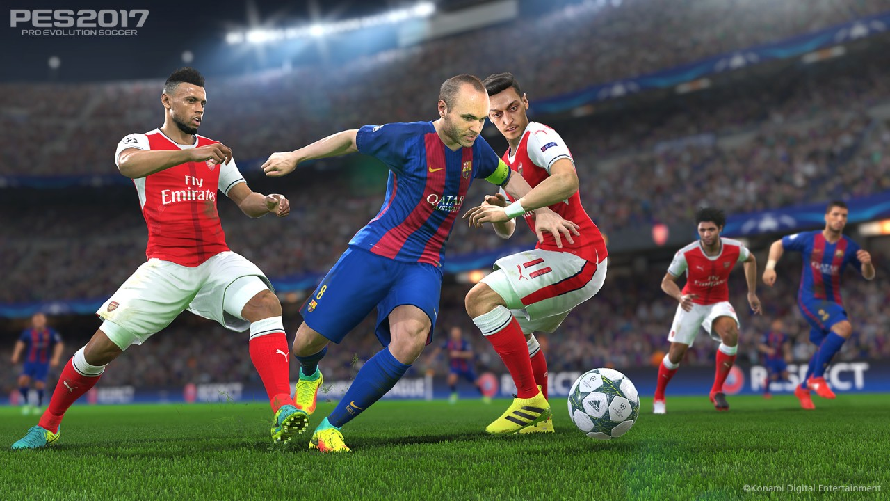 PES 2017 screenshot Barcellona - 4
