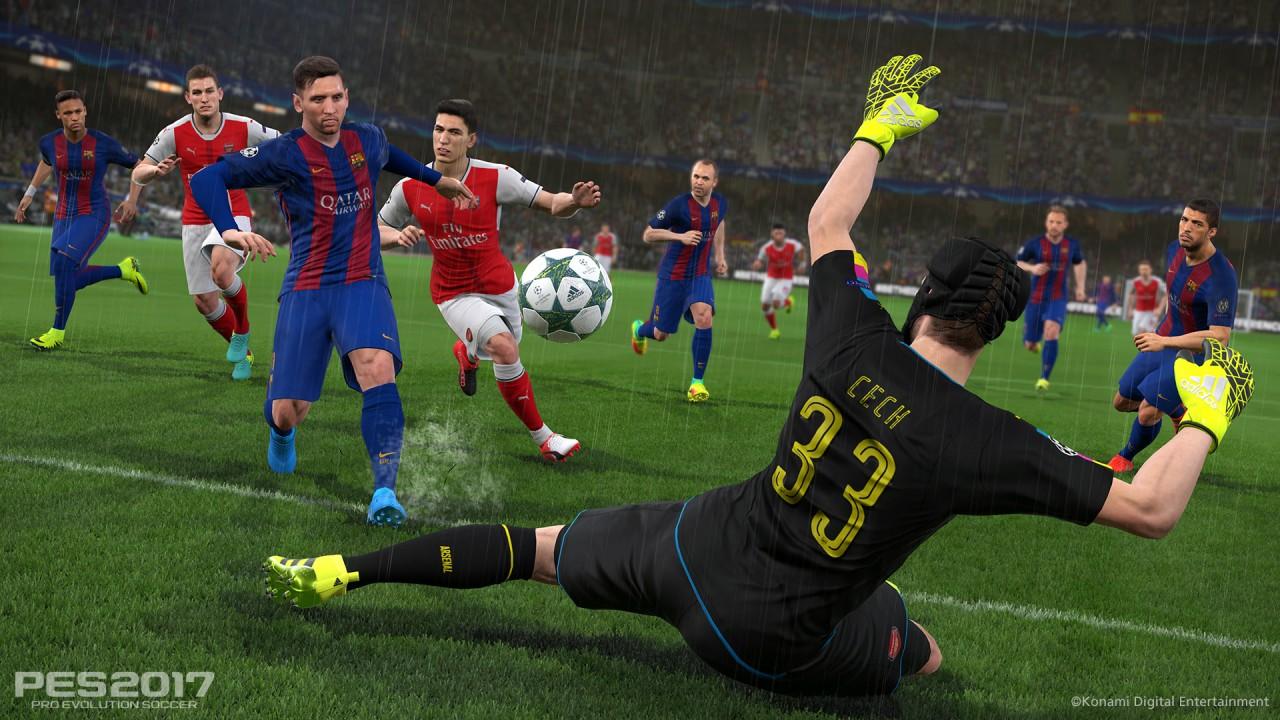 PES 2017 screenshot Barcellona - 5
