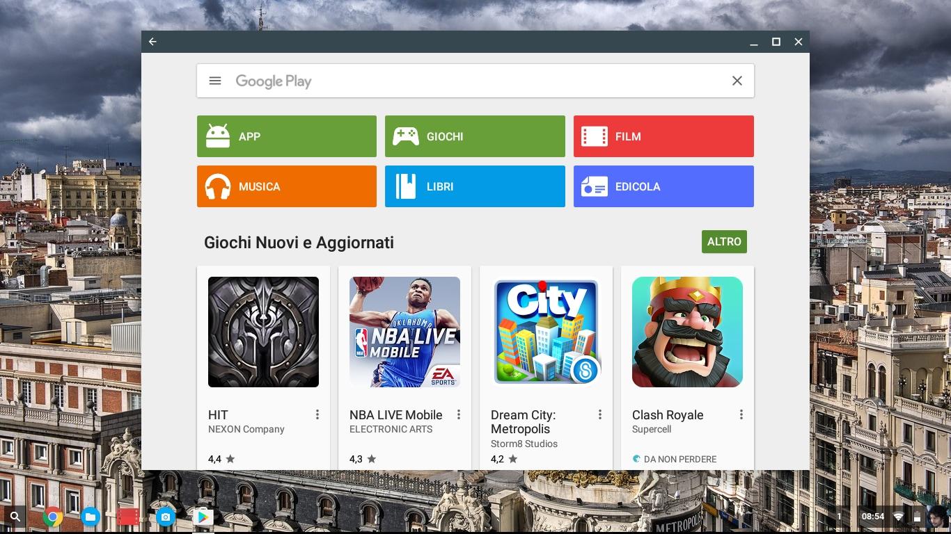 Il PlayStore per Chrome OS arriva su altri Chromebook. Anche il vostro?