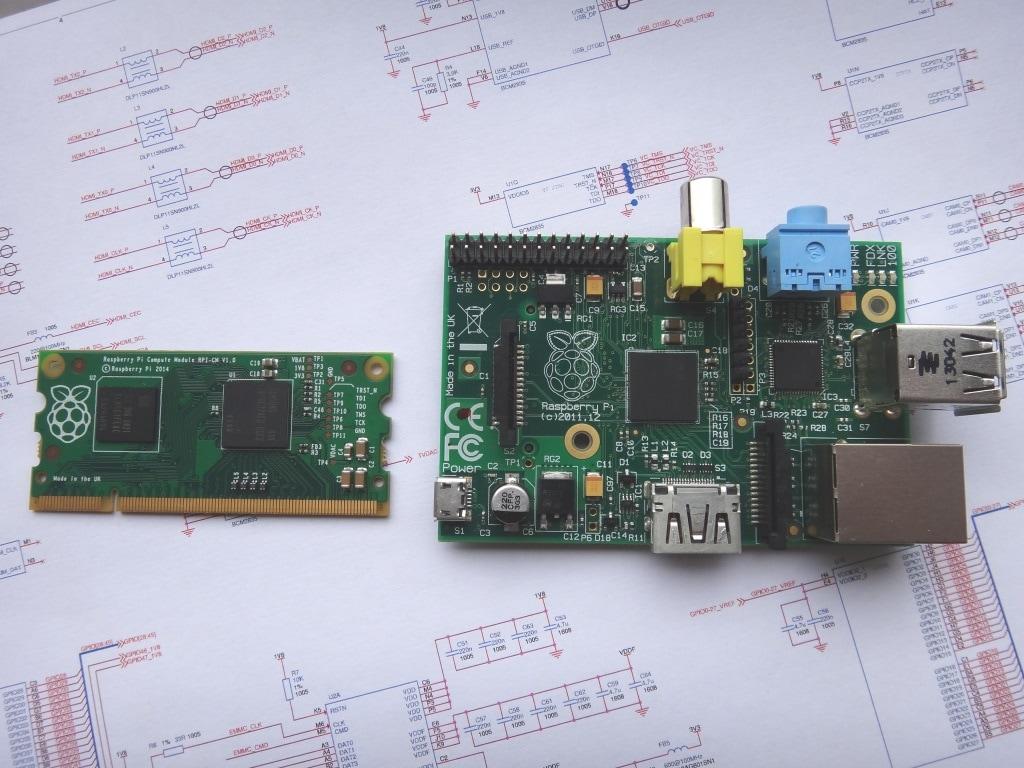 Compute Module: il Raspberry Pi 3 grande come modulo RAM da laptop