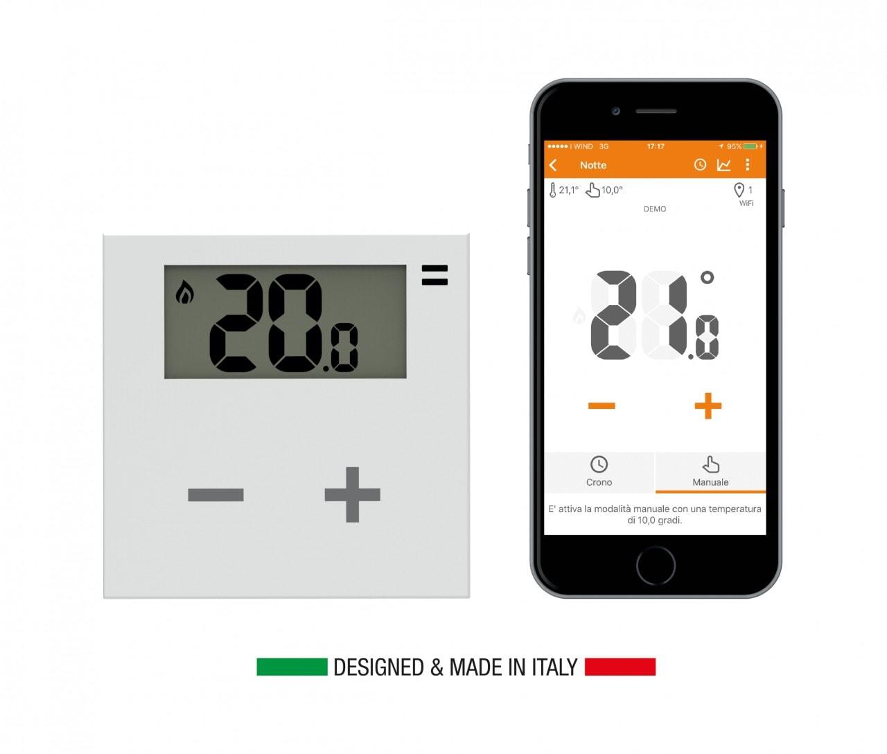 Rialto, il termostato smart 100% made in Italy