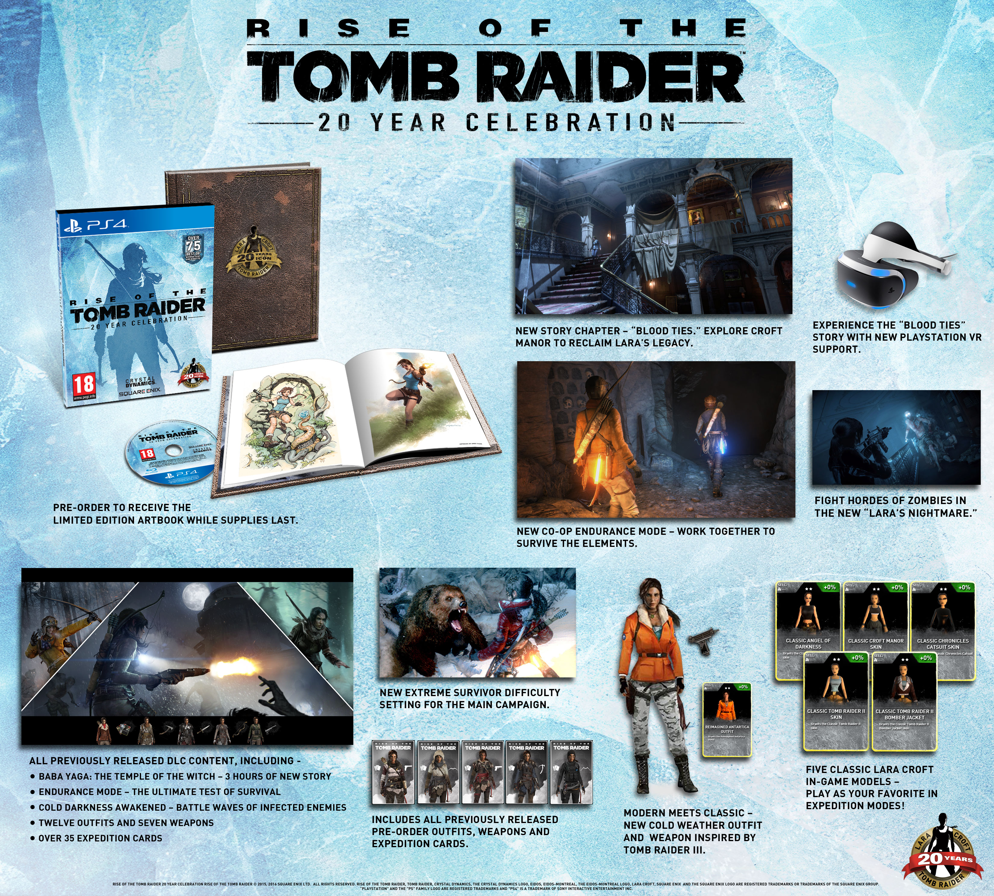 Rise of the Tomb Raider 20 Year Celebration – 1