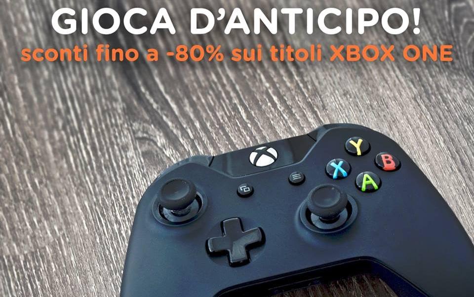 Super offerte per i videogiochi Xbox One da Unieuro