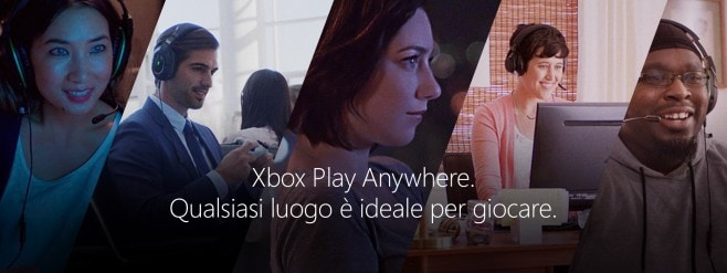Xbox Play Anywhere Banner
