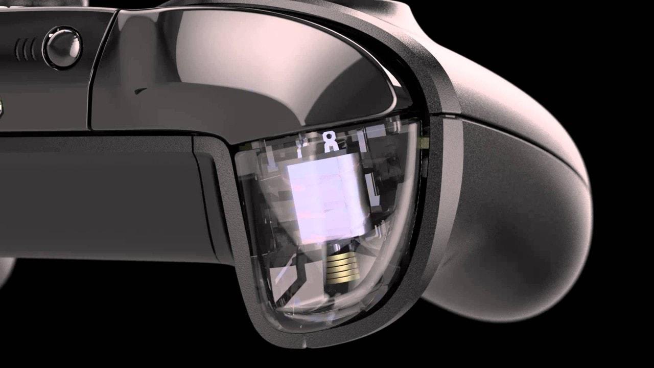 brevetto microsoft vibrazione a zone