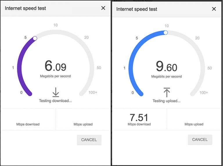 google speed test