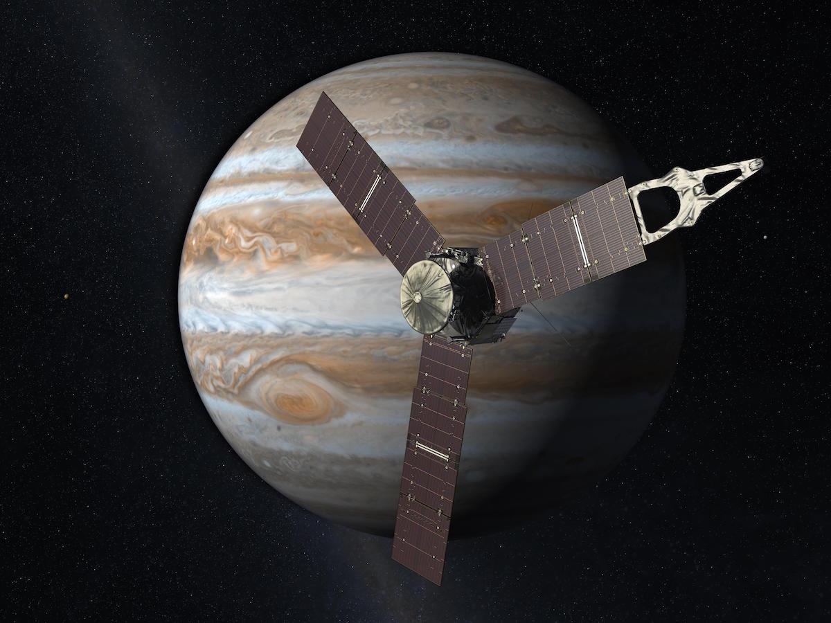 La sonda Juno della NASA è arrivata su Giove, anche grazie al made in Italy
