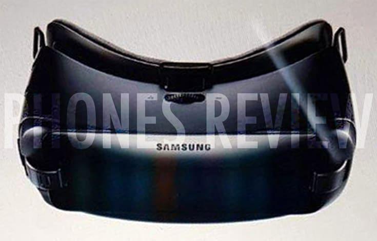 Un leak ci mostra il possibile aspetto del nuovo Samsung Gear VR (foto)