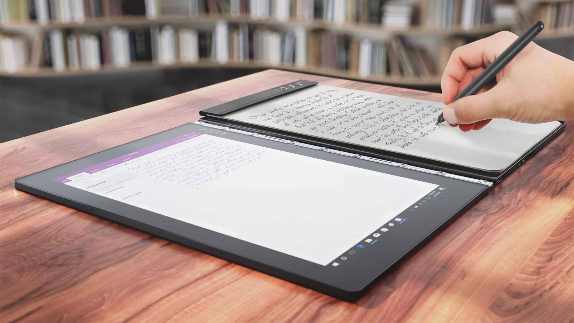 Lenovo Yoga Book è un rivoluzionario tablet che si crede un quaderno (foto e video)