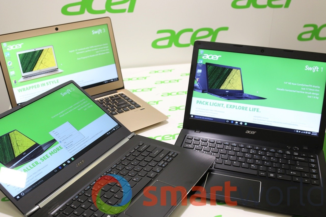 Acer Swift 1 3 5 IFA 2016 - 16