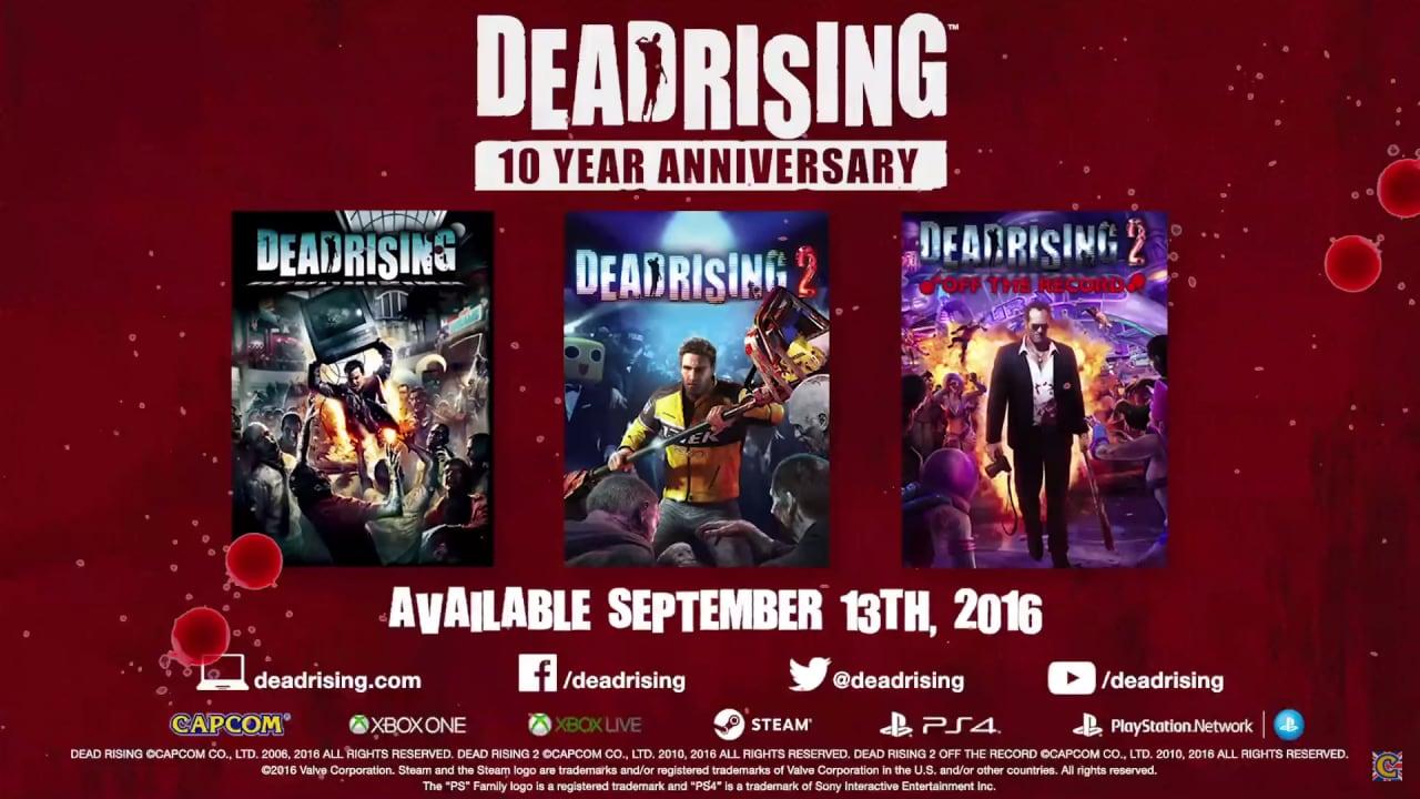 I primi 3 Dead Rising tornano a 1080p e 60 fps su PS4, XONE e Steam (foto e video)