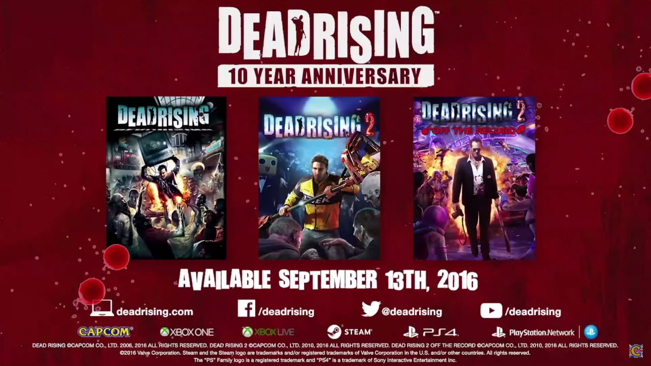 Dead Rising 10th Anniversary