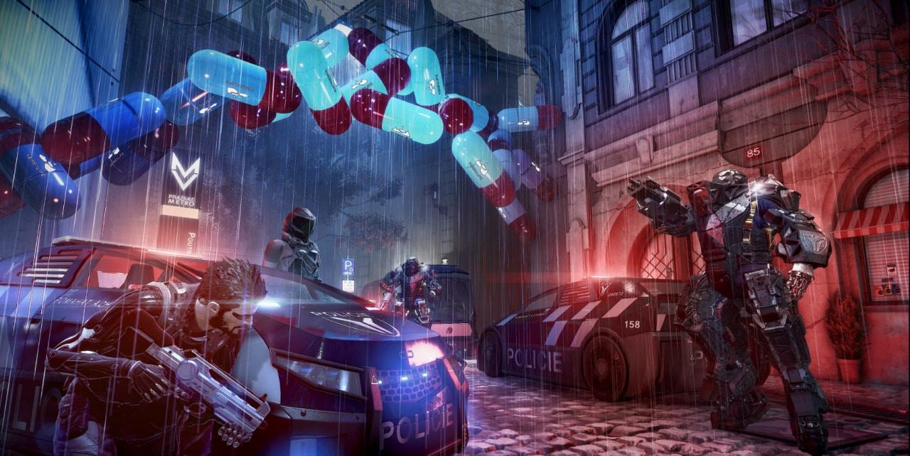 Deus Ex Mankind Divided Trailer di lancio