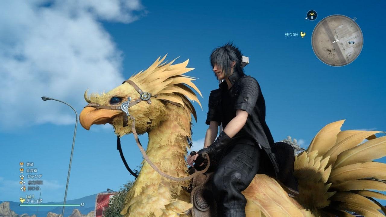 Tanti nuovi screenshot di Final Fantasy XV, e ci sono anche i Chocobo!