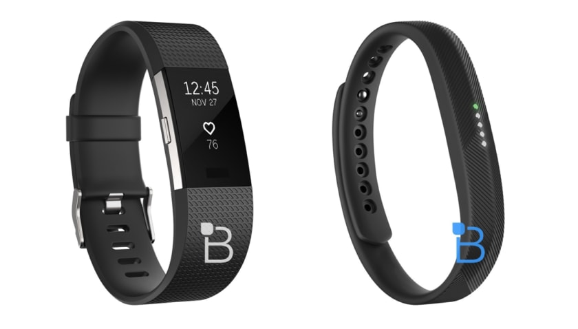 Fitbit Charge 2 e Flex 2