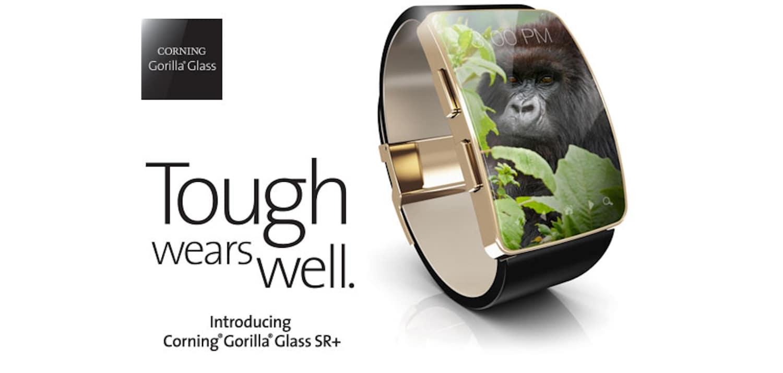 Ecco Gorilla Glass SR+, il vetro super resistente per smartwatch