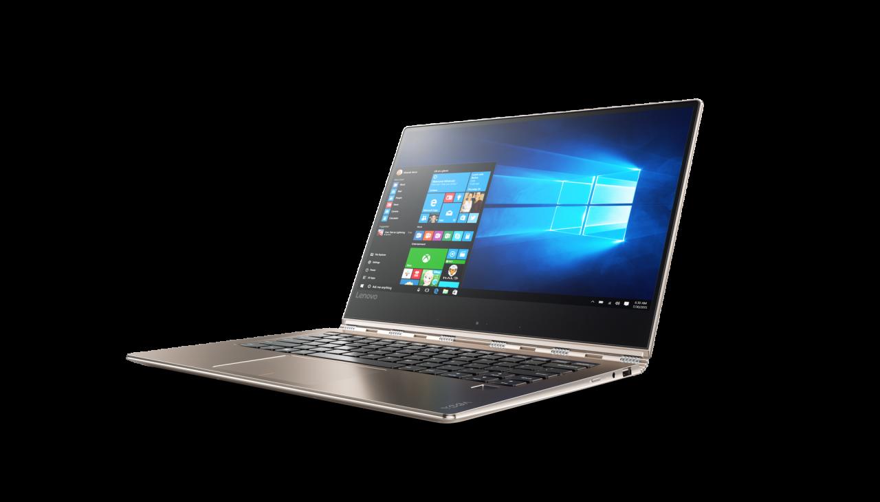 """Lenovo Yoga 910: il nuovo convertibile ha un display 4K """"senza"""" cornici (foto)"""