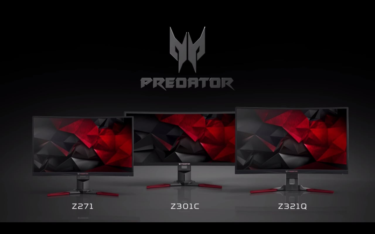 Monitor Acer Predator IFA 2016