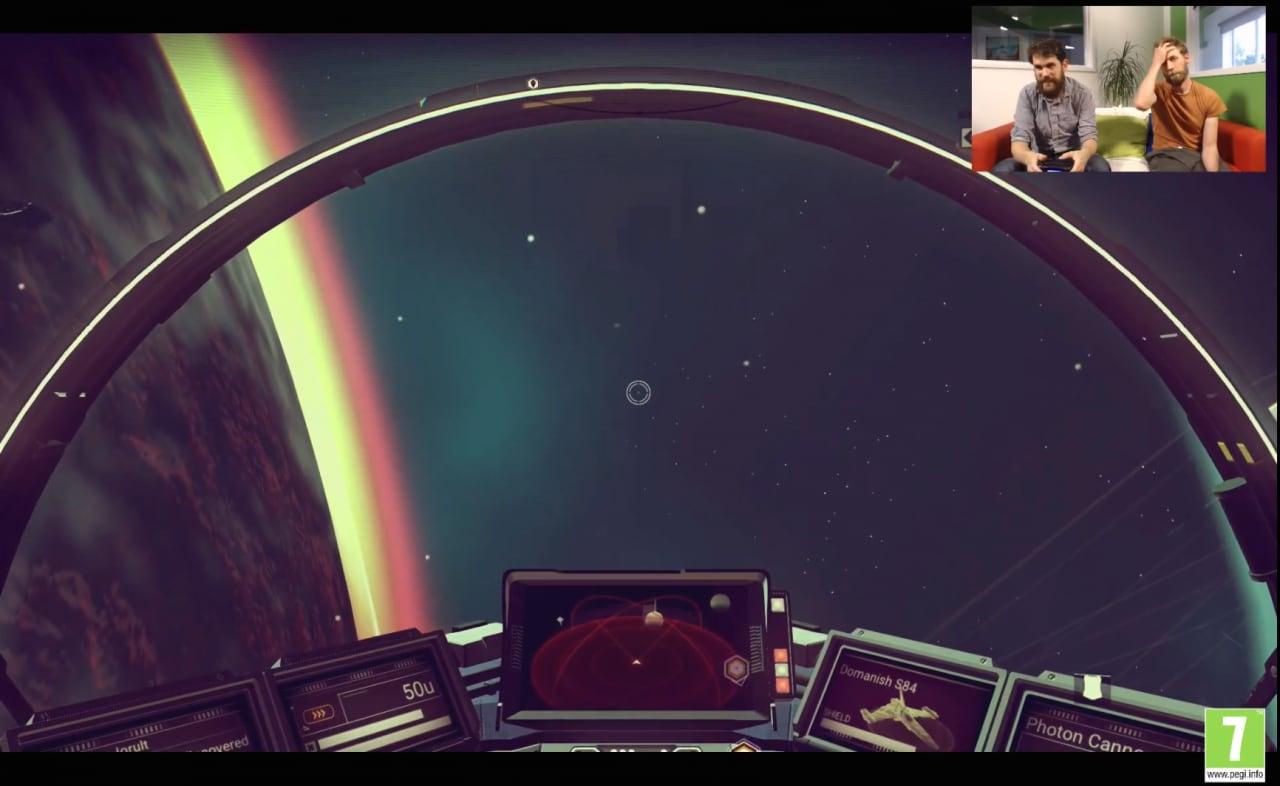Il creatore di No Man's Sky mostra un'ora di gameplay in diretta Twitch (video)