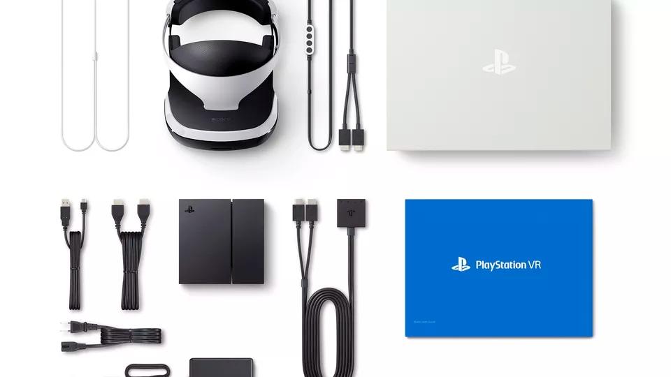 PlayStation VR Confezione