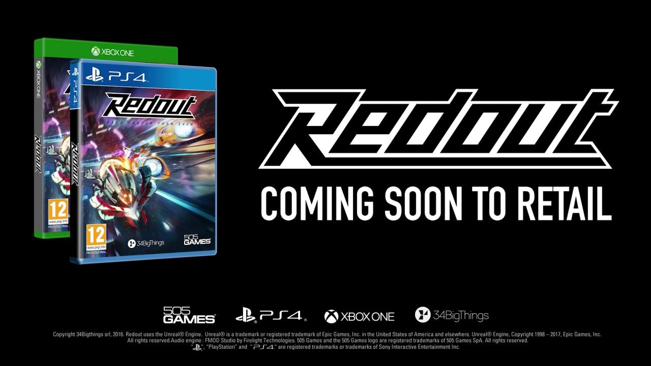 Redout è un fantastico tributo a WipeOut tutto italiano in arrivo anche su PS4 e Xbox One (foto e video)