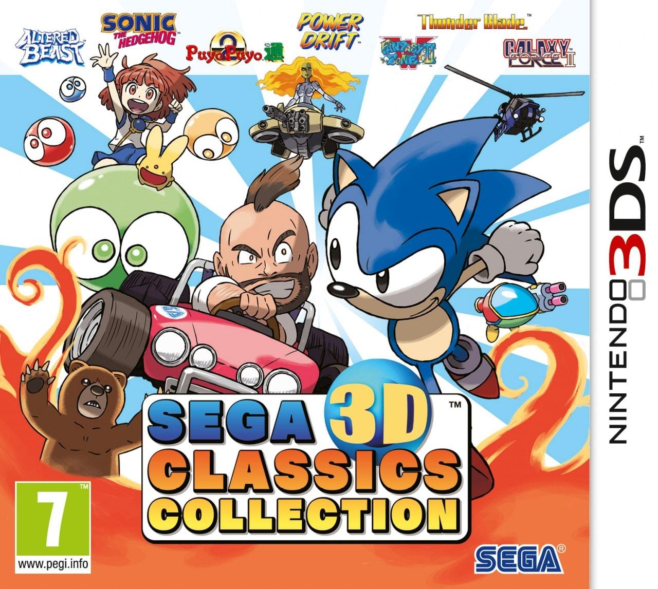 SEGA 3D Classics Collection arriverà anche in Italia. Uscita fissata a novembre (foto)