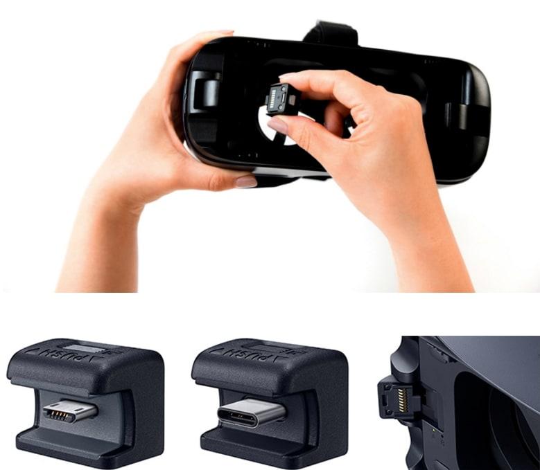 Samsung Gear VR 2016 adattatori