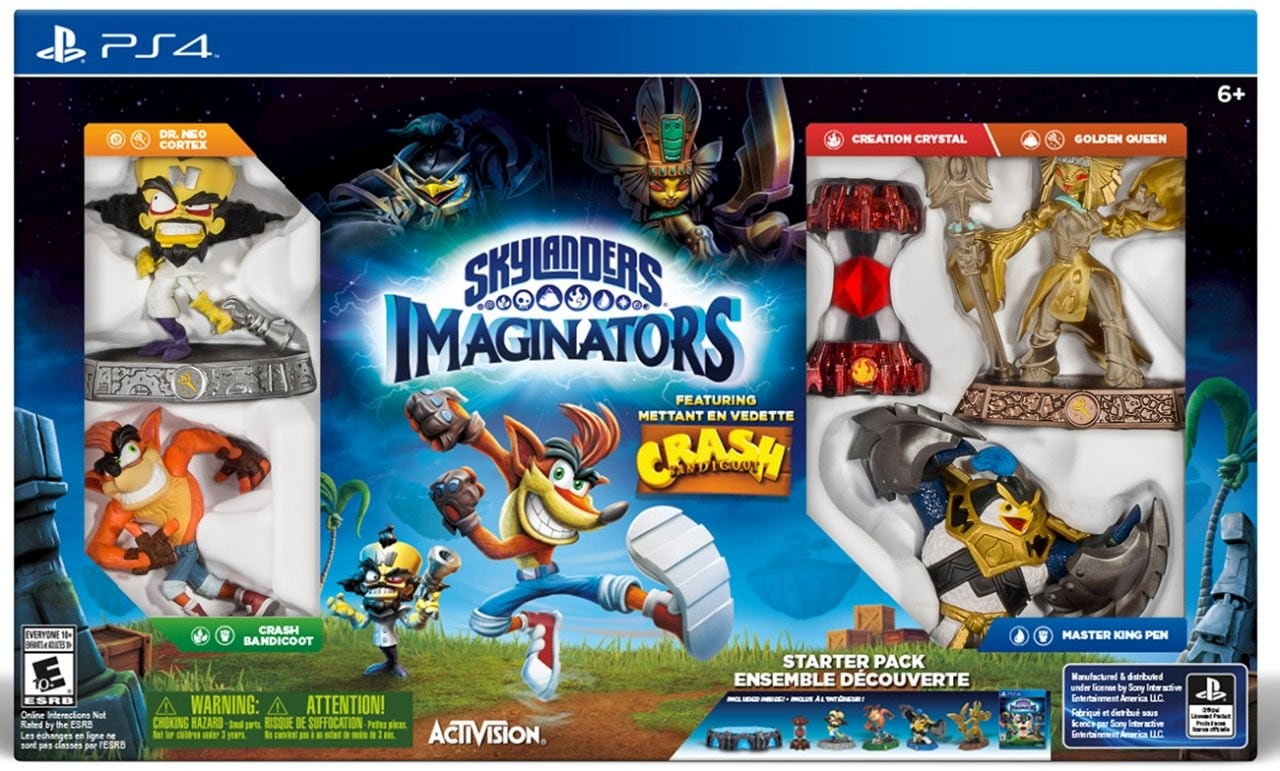 Skylanders Imaginators Crash Edition