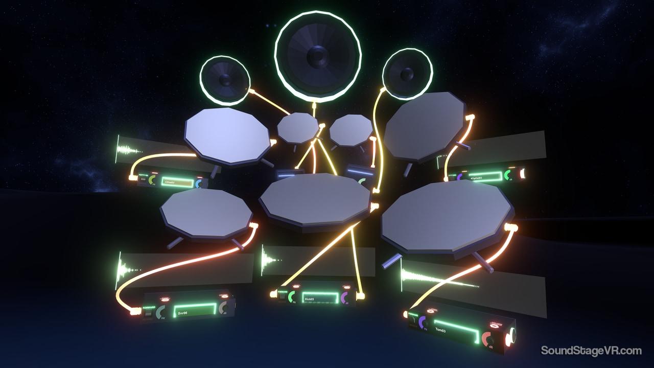 Con SoundStage, la produzione musicale arriva nella realtà virtuale di HTC Vive (foto e video)