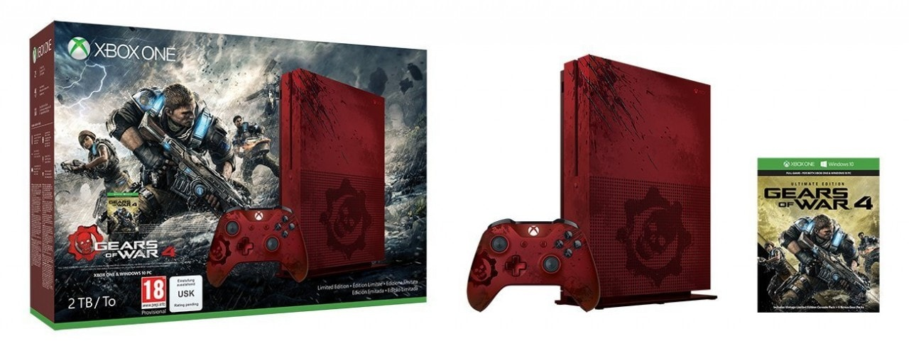 Xbox One S Gears of War (1)