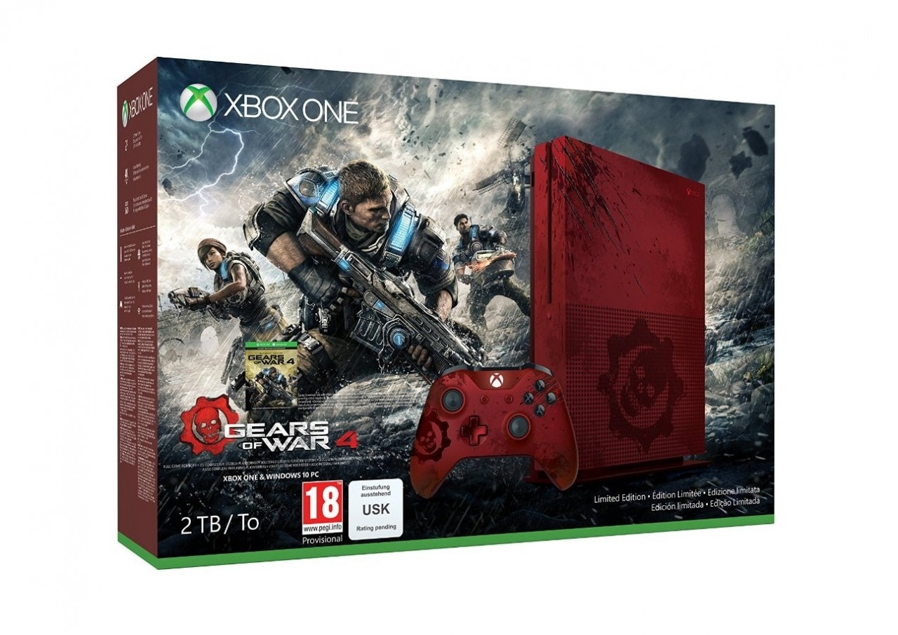 Xbox One S Gears of War (4)