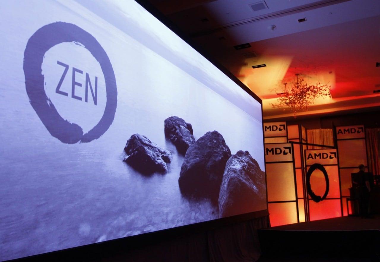 AMD: nuovi dettagli sui potenti processori Zen, in arrivo ad inizio 2017