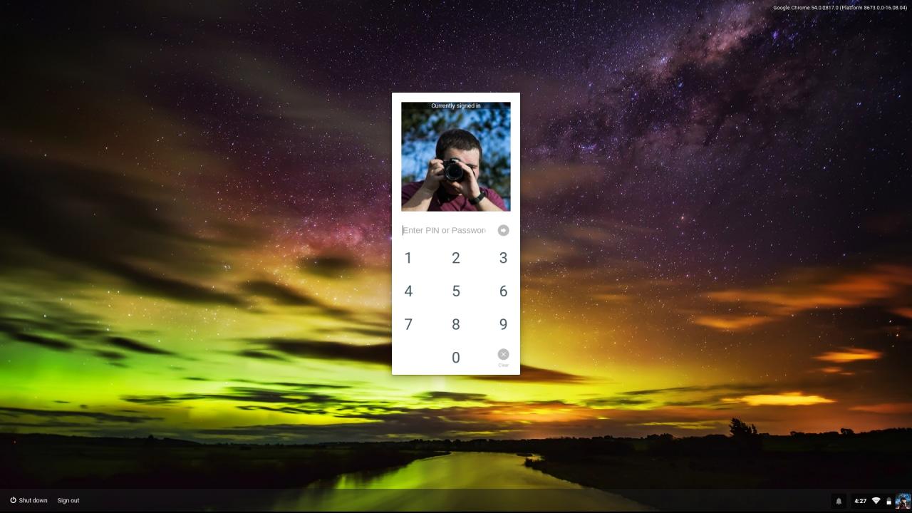 Su Chrome OS arriva lo sblocco con PIN. Ecco come attivarlo