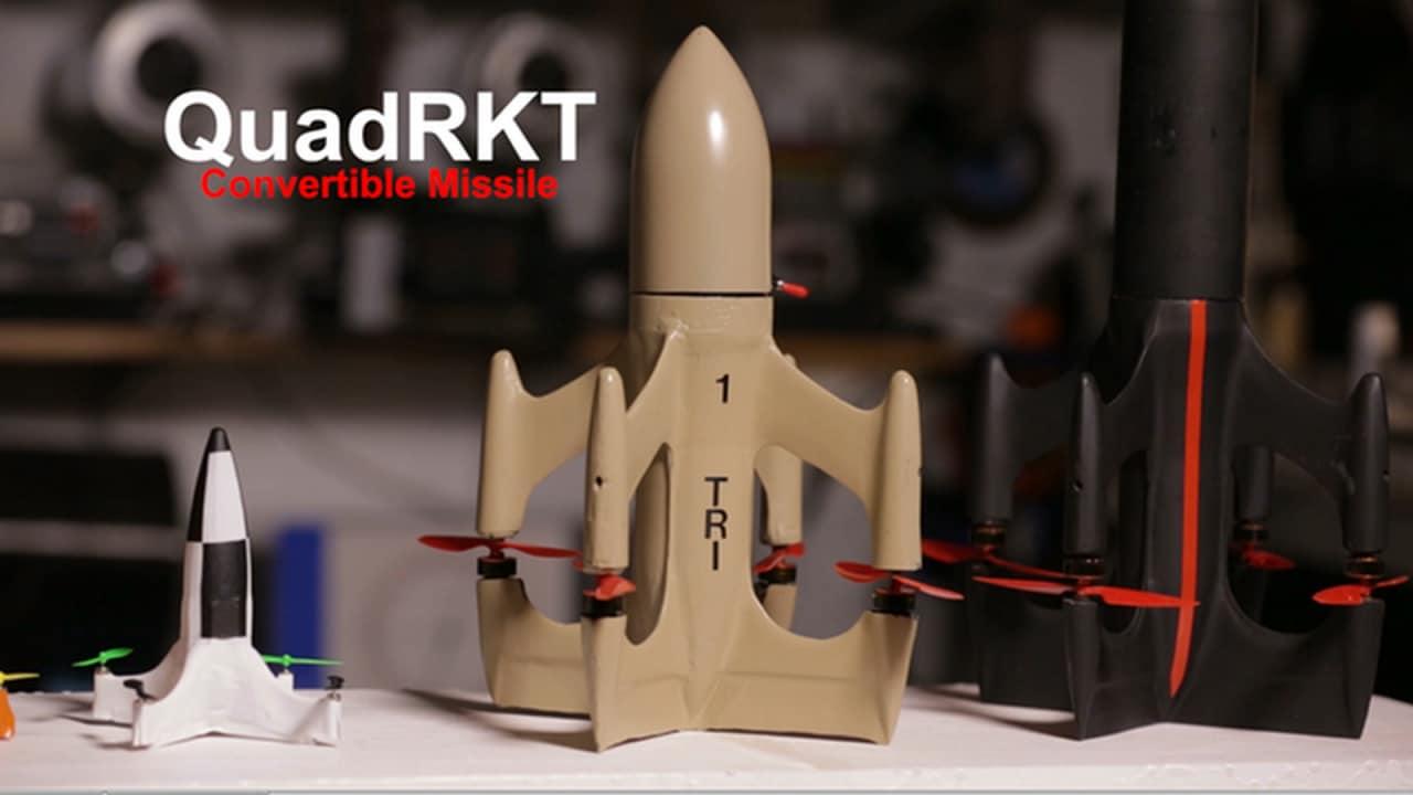"""Questo missile """"ha le pale"""" per correre veloce"""