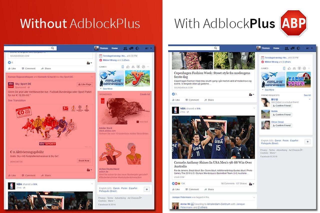 AdBlock Plus ha già aggirato la nuova pubblicità di Facebook, ovviamente