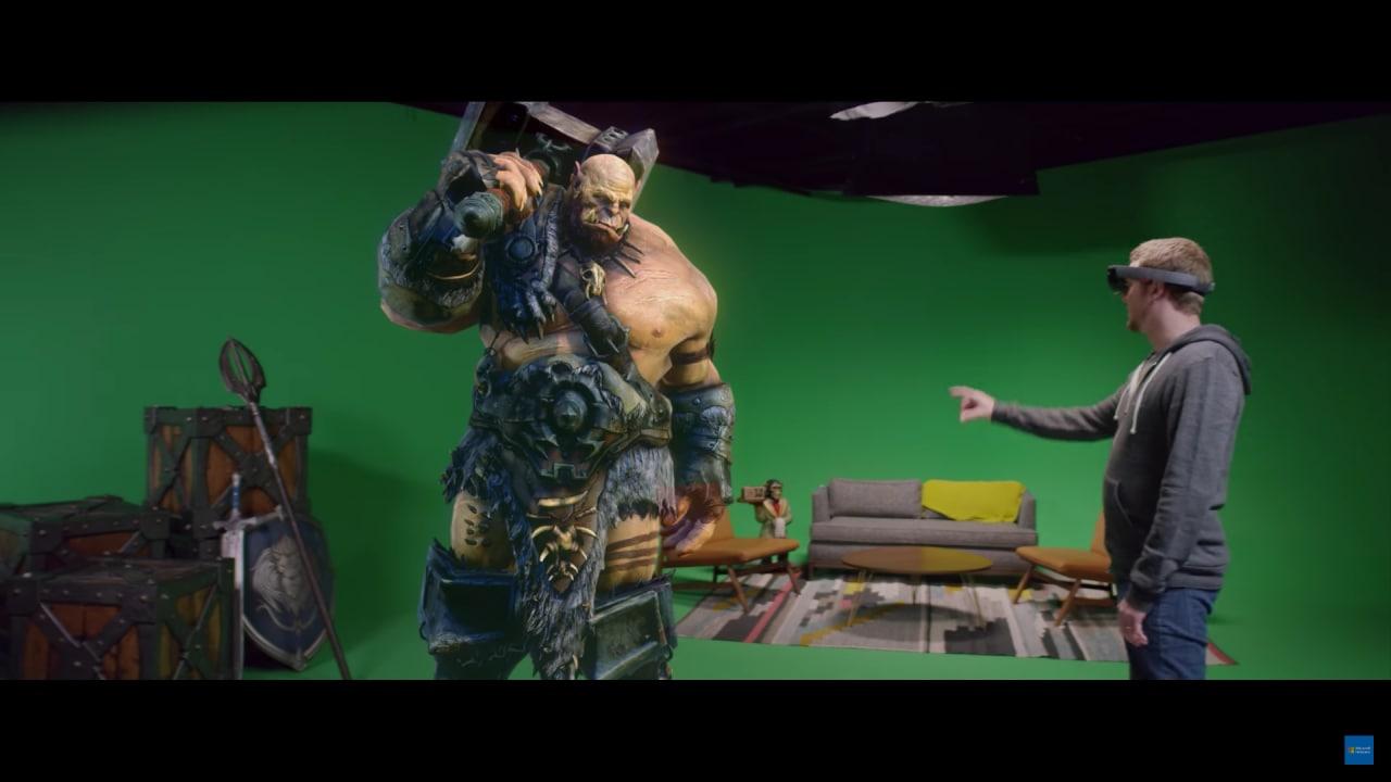 Legendary ha portato in vita un orco di Warcraft grazie ad HoloLens (video)