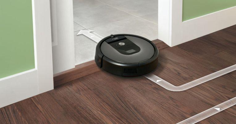 irobot presenta il nuovo robot aspirapolvere roomba 960 smartworld. Black Bedroom Furniture Sets. Home Design Ideas