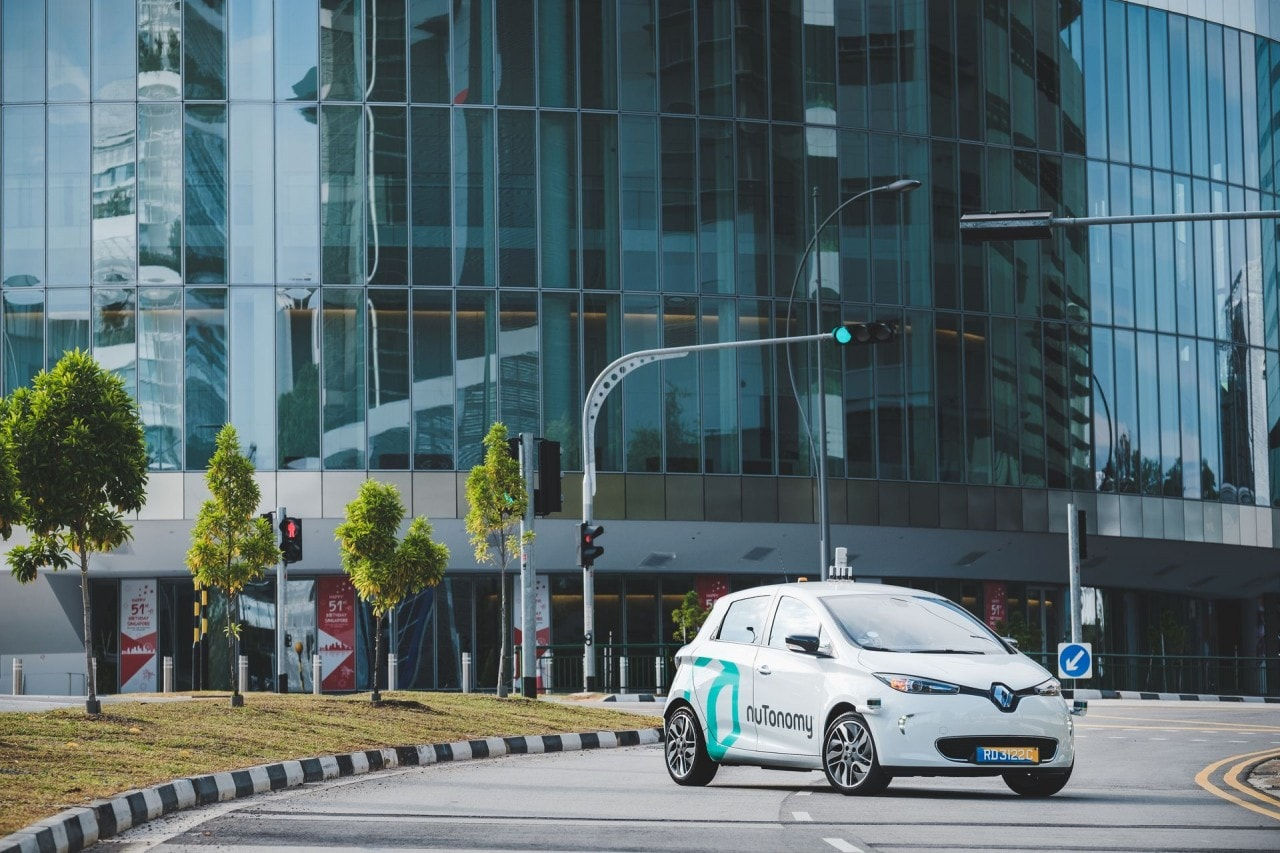 nutonomy guida autonoma