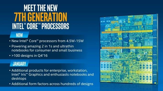 Intel presenta la nuova serie di processori Kaby Lake per portatili e convertibili