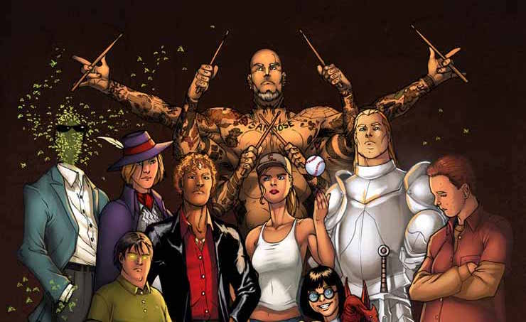 La fantasia di George R.R. Martin tornerà in TV con i mutanti di Wild Cards