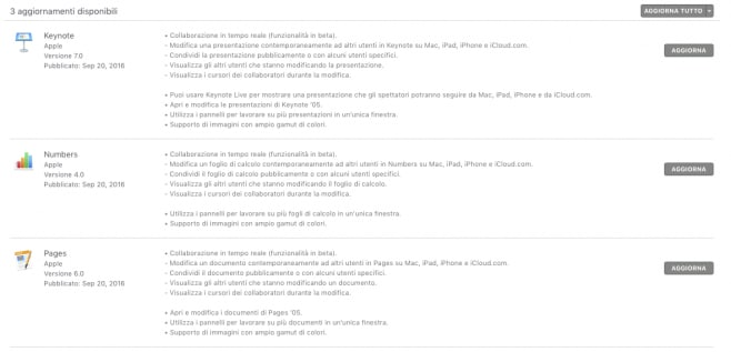 Aggiornamento Pages Numers Keynote macOS Sierra_1