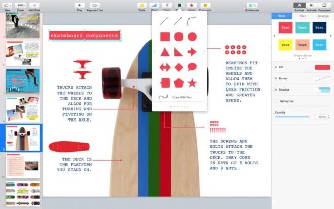 Apple aggiorna Pages, Numbers e Keynote con collaborazione e