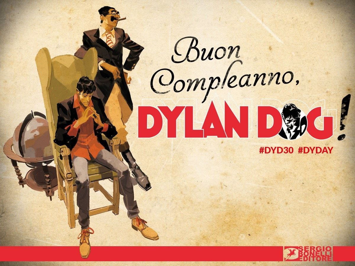 Buon compleanno Dylan Dog