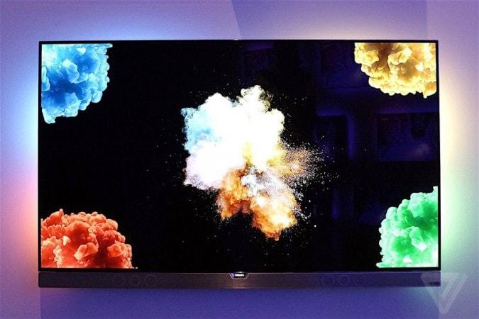 Il primo TV OLED di Philips si mostra ad IFA 2016 (foto)