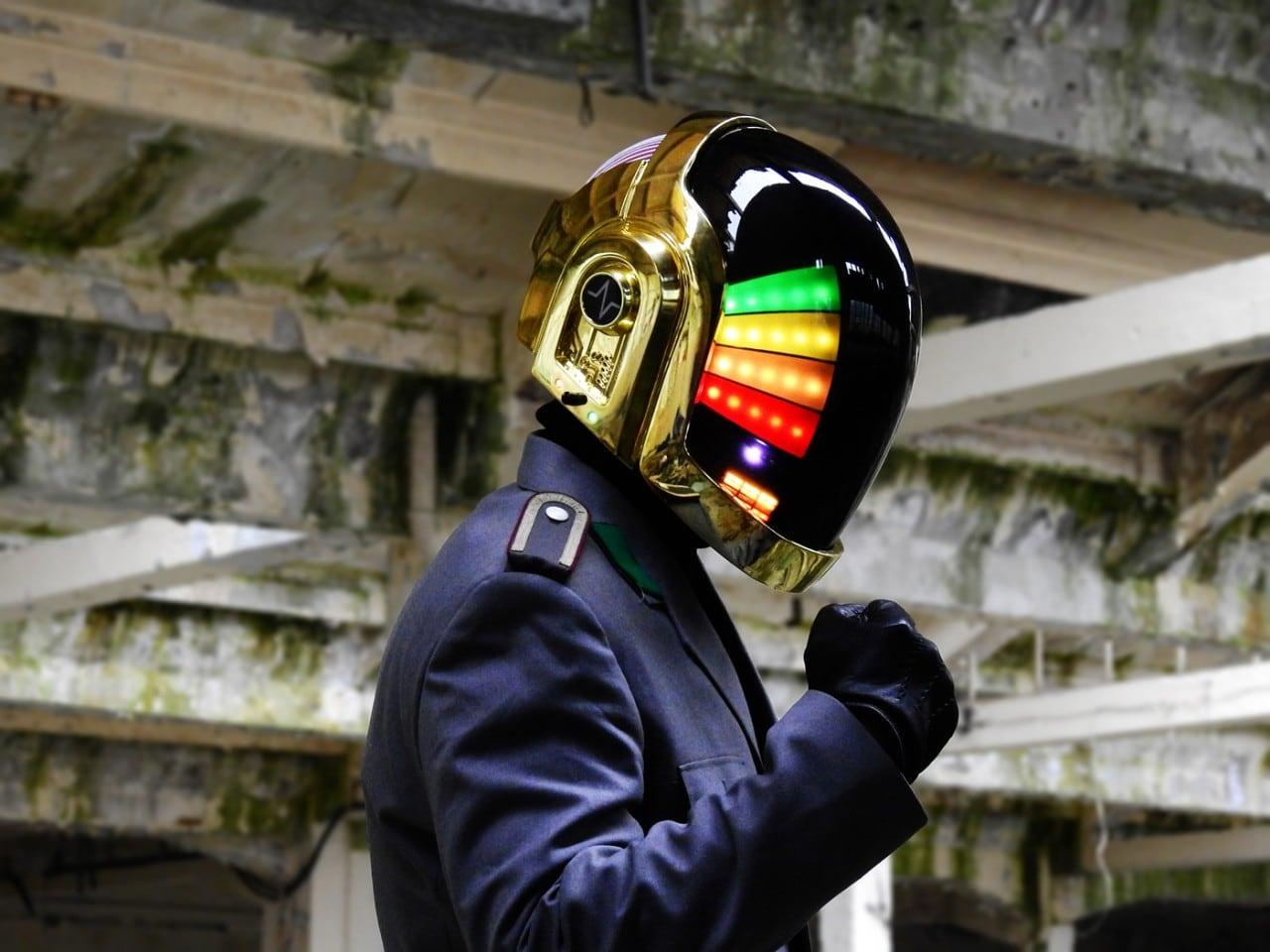 Elmetto Daft Punk (3)